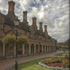 Almshouses. Keywords: Andy Morley;Urban;History;alms;almshouses;bedworth;Nicholas Chamberlaine